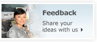 Feedback | Share your ideas with us