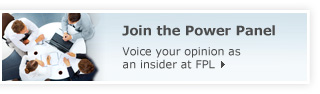 Join the Power Panel - Voice your opinion as an insider at FPL