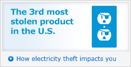 The 3rd most stolen product in the U.S. - How electricity theft impacts you »