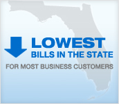 LOWEST BILLS IN THE STATE FOR MOST BUSINESS CUSTOMERS